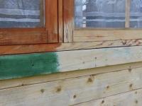 Grillimaja akende puhastamine soodapritsiga, foto Arved Ant
