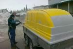 Haagise puhastamine värvist, foto SodaBlastBaltic