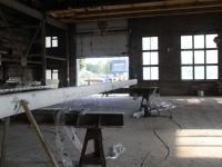 Jahtlaeva mastide puhastamine soodapritsiga, foto SodaBlastBaltic
