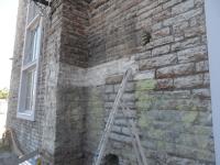 Kultuurikatla paekivist seinte puhastamine
