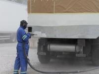 Kütusetsisterni puhastamine soodapritsiga, foto SodaBlastBaltic