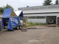 Lincolni autokere puhastamine soodapritsiga, foto SodaBlastBaltic