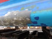 Lindaline laeva puhastamine
