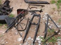 Mootorratta osade puhastamine soodapritsiga, foto SodaBlastBaltic