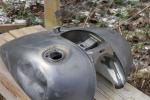 Mootorratta puhastamine, foto SodaBlastBaltic