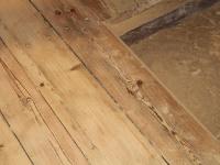 Sangaste lossi laudpõranda puhastamine, foto DSodaBlastBaltic