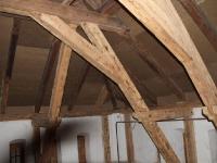 Sangaste lossi katusekonstruktsioonide puhastamine soodapritsiga, foto sodaBlastBaltic