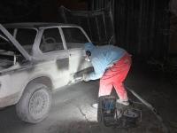 Vana BMW kere puhastamine, foto SodaBlastBaltic