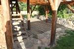 Vana palkpõranda puhastamine soodapritsiga, foto SodaBlastBaltic