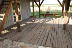 Palkpõranda puhastamine soodapritsiga, foto SodaBlastBaltic